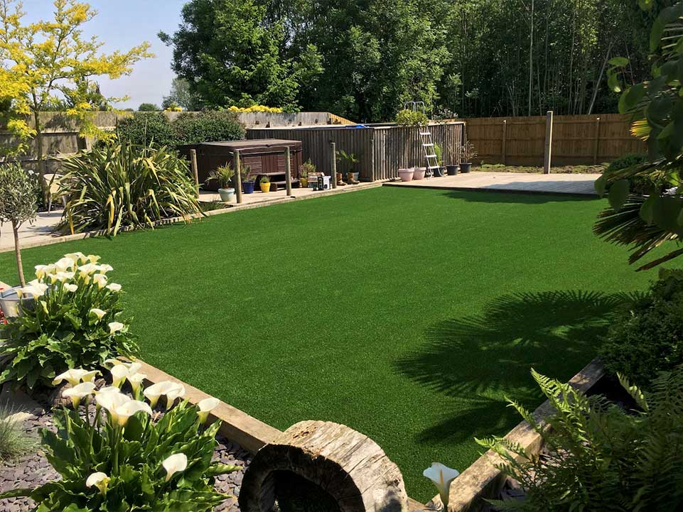 Artificial grass large