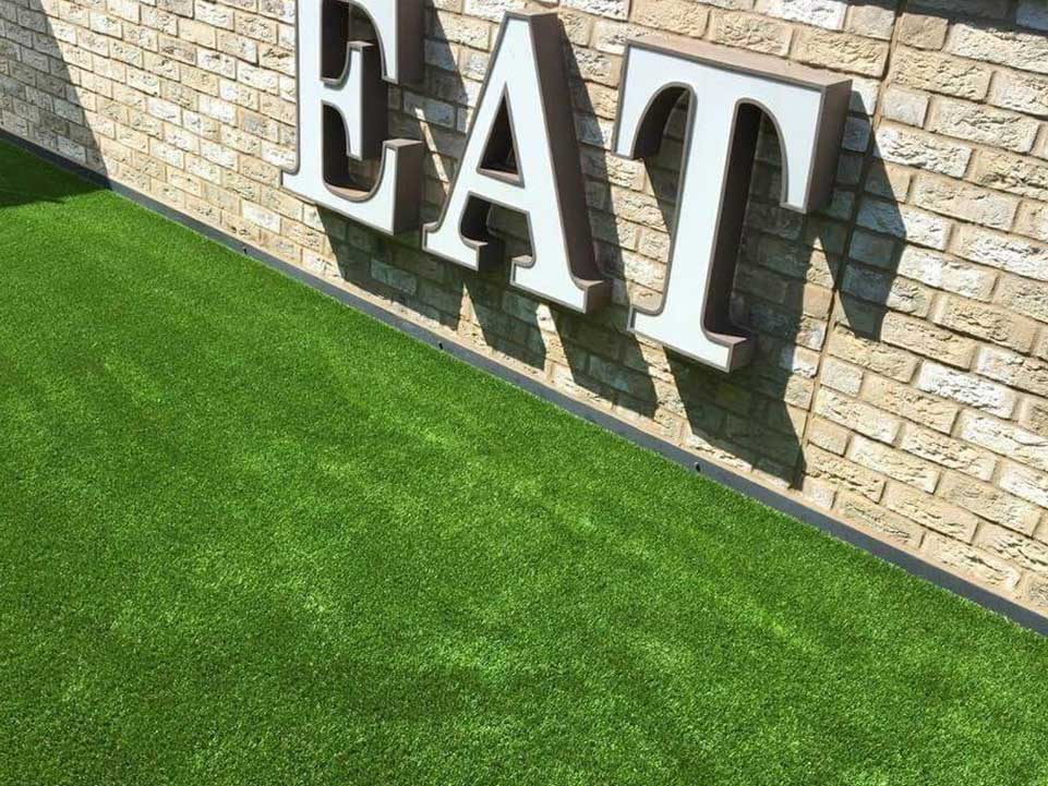 Artificial grass for commercial property - Large