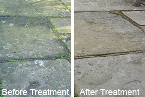 paving slabs before and after